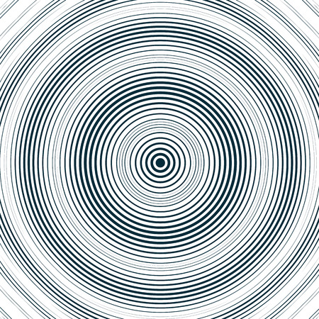 interference: Moire pattern, monochrome background with trance effect. Optical illusion, creative black and white graphic backdrop.