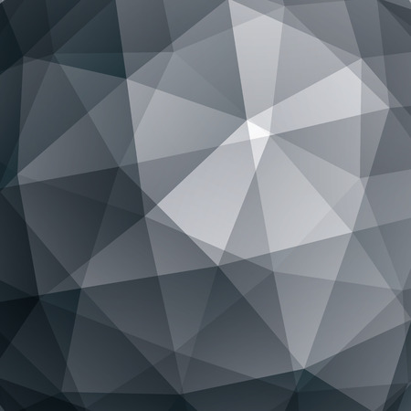 constructive: Abstract vector geometric 3D background, grayscale decorative pattern.