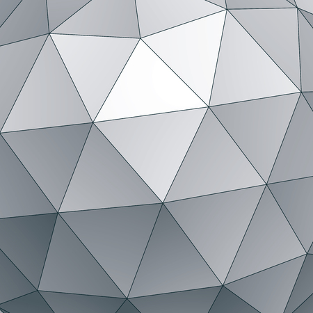 convex: Abstract vector geometric 3D background, complicated science neutral illustration.