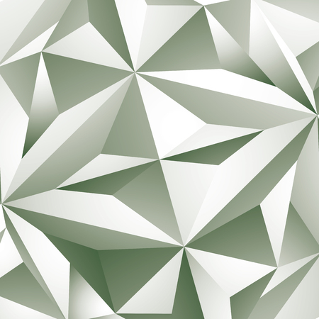 volumetric: Abstract vector geometric 3D background, grayscale decorative pattern.