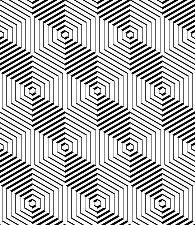 intertwine: Contemporary abstract vector endless background, three-dimensional repeated pattern. Decorative graphic entwine ornament.