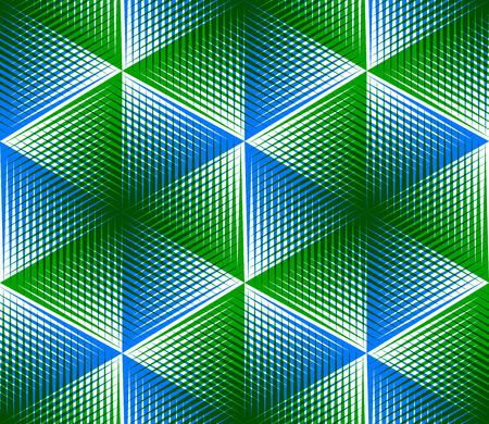 entwine: Abstract infinite EPS10 contemporanea, tridimensionale modello ripetuto. Ornamento trasparente entwine grafico decorativo. Vettoriali
