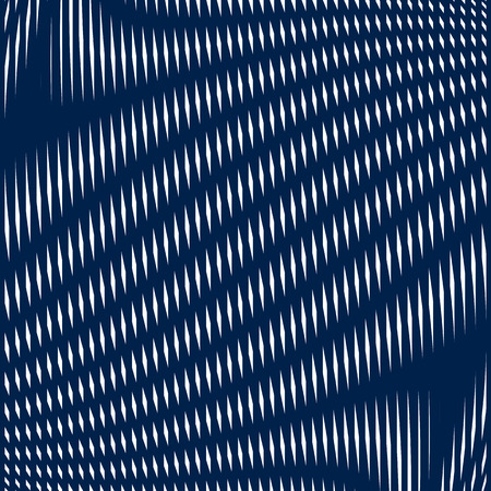 moire: Geometric background created with moire technique. Noisy contrast lined tiling with visual effects. Illustration
