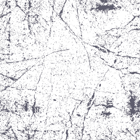 Seamless scratched rusty grunge texture, vector background.