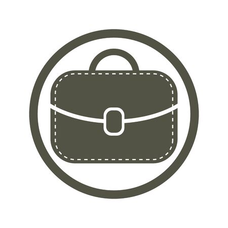 bursa: Bag vector icon.