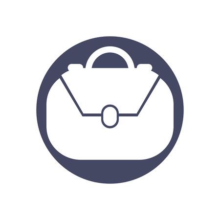 scrip: Bag vector icon.