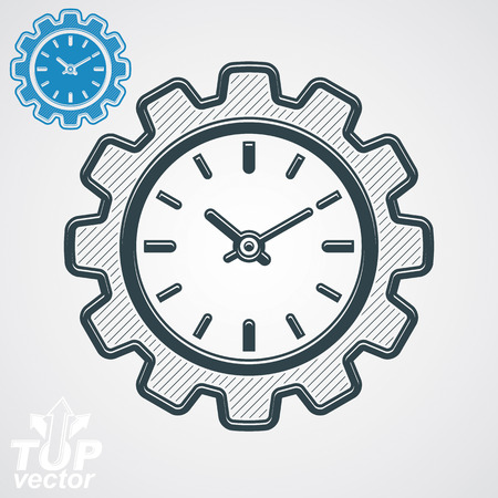 component: engineering component - cog wheel, additional version included