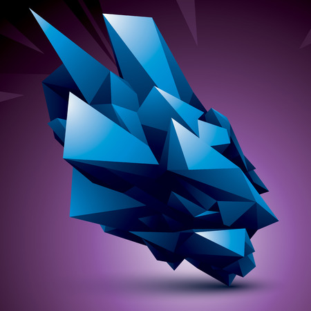complicated: complicated 3d figure, modern digital technology style colorful form