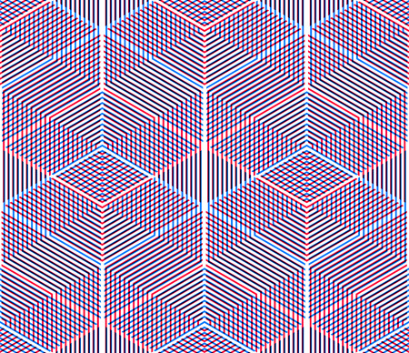 splice: Graphic seamless abstract pattern