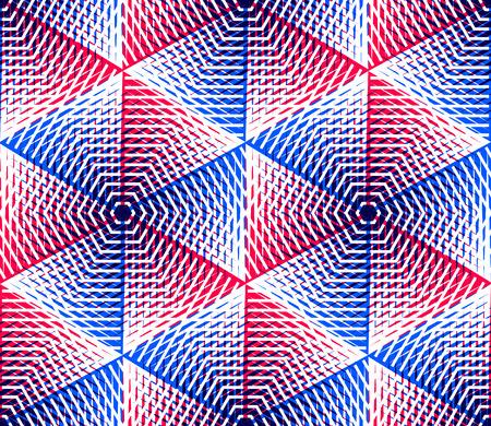 pellucid: Endless colorful symmetric pattern, graphic design