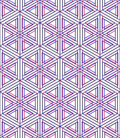 entwine: Colorful illusorio astratto geometrico senza soluzione di modello 3D con effetti di trasparenza