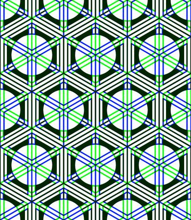 symmetric: Endless colorful symmetric pattern, graphic design