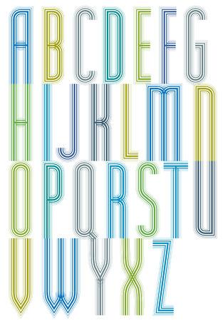 Colorful geometric decorative splicing font letters for greeting colorful geometric decorative splicing font letters for greeting postcards stok fotoraf 40988522 m4hsunfo