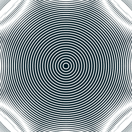moire: Decorative lined hypnotic contrast background