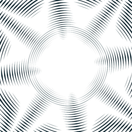 in lined: Decorative lined hypnotic contrast background