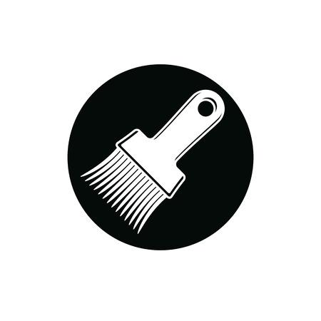 whitewash: Renovation instrument used in whitewash, paint brush
