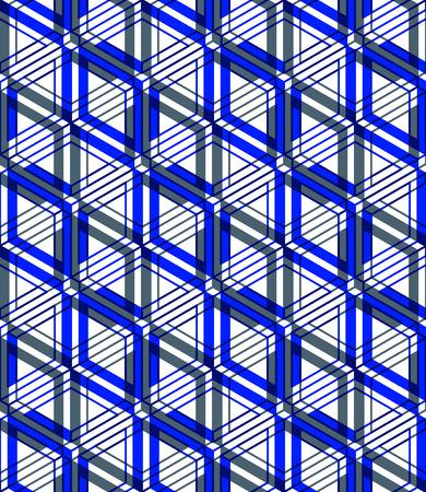 entwine: Geometric seamless pattern