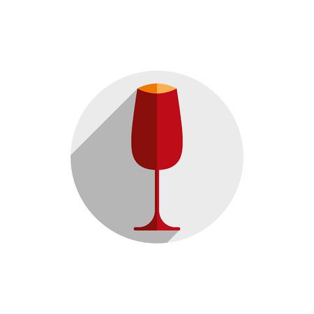 goblet: Winery theme, decorative stylish wine goblet Illustration