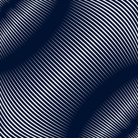 visual effects: Abstract lined background, optical illusion style. Chaotic lines creating geometric pattern with visual effects.