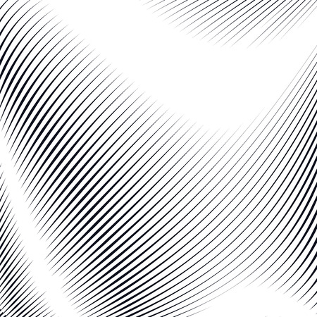 abstract line: Noisy contrast lined backdrop, tiling with visual effects. Moire art technique. Illustration
