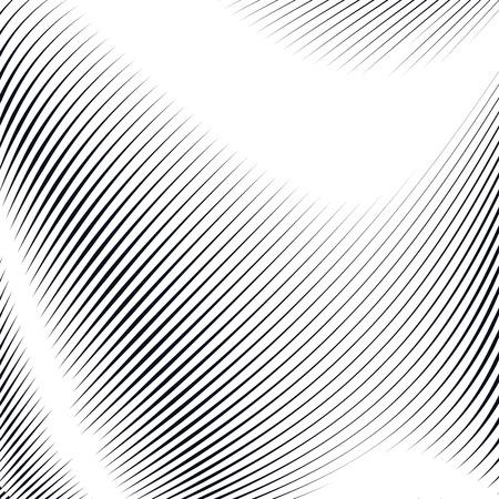 Noisy kontrast pokryte tło, płytki z efektami wizualnymi. Moire techniki sztuki. Ilustracje wektorowe