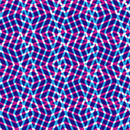 expressive: Geometric messy lined seamless pattern, bright vector endless background. Decorative expressive motif texture.
