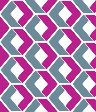 figuras abstractas: Textura vector sin fin con figuras geométricas de color púrpura, fondo abstracto geométrico contemporáneo motivo. Composición creativa artificial simétrica continua, para el diseño gráfico y web.