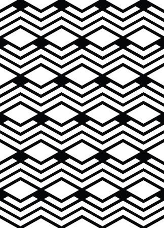 surface covering: Monochrome geometric art seamless pattern