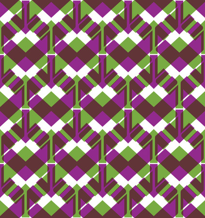 arrowheads: Bright endless vector layers texture, motif abstract contemporary geometric multilayered background with arrowheads. Creative symmetric continuous pattern, can be used for design and textile.