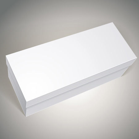 multiply: Vector blank box, template for your package design, put your image over the pack in multiply mode