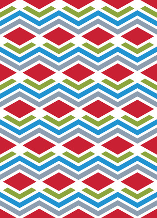 interweave: Bright abstract seamless pattern with interweave lines.