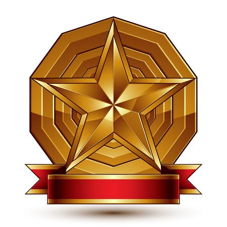 Complicated vector golden design