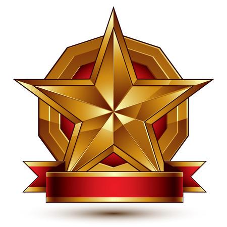 branded: Branded golden symbol