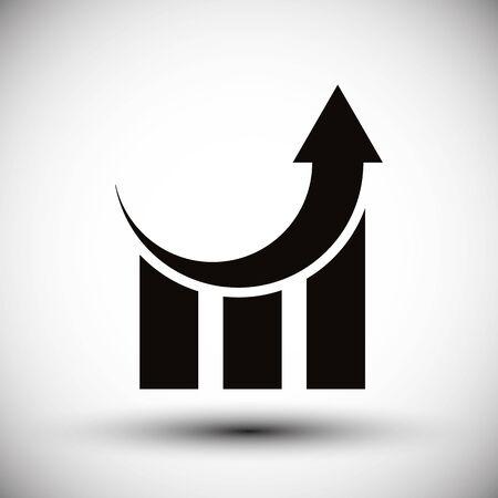 growth: finance growth icon