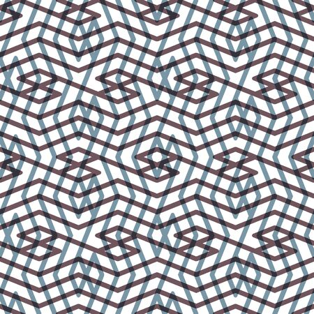 covering: Monochrome messy seamless pattern with parallel lines, black and white infinite geometric mosaic textile, abstract vector textured web visual covering. Illustration