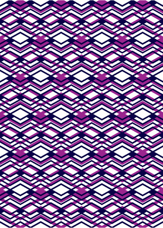 intertwine: Bright rhythmic textured endless pattern, stripy continuous creative textile, expressive geometric motif background. Illustration