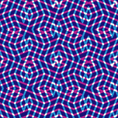messy: Geometric messy lined seamless pattern, bright transparent vector endless background. Decorative maze expressive motif overlay texture.