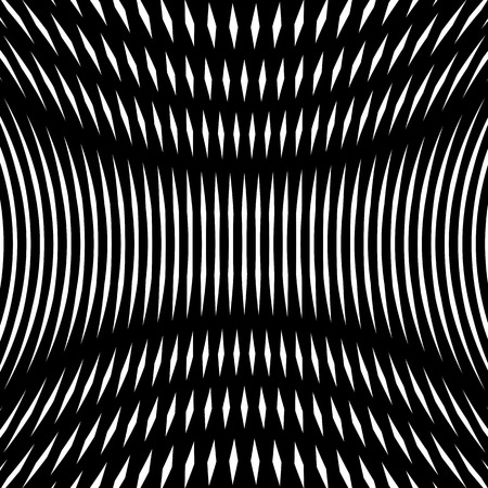 noisy: Noisy contrast lined backdrop, tiling with visual effects. Moire art technique. Illustration