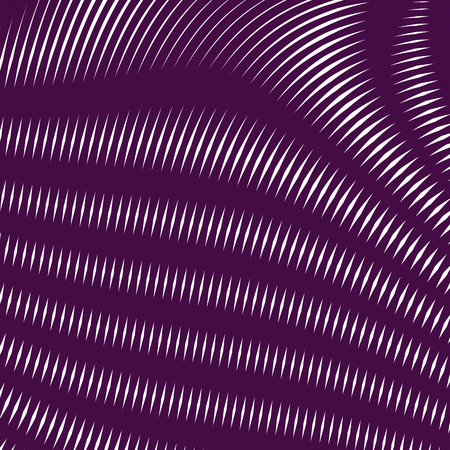 tiling: Moire pattern, op art background. Hypnotic backdrop with geometric black lines. Abstract vector tiling.