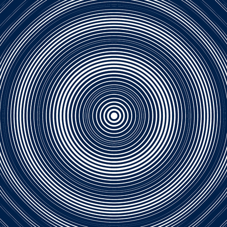 moire: Moire style, vector  optical pattern, motion effect tile. Decorative lined hypnotic contrast background.
