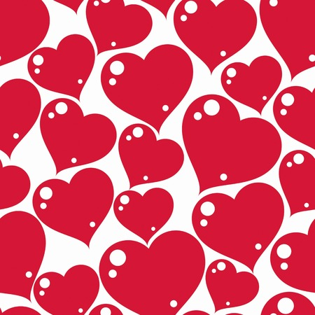 rendezvous: Valentine's day conceptual art vector backdrop, loving hearts. Love theme seamless background, beautiful valentine.
