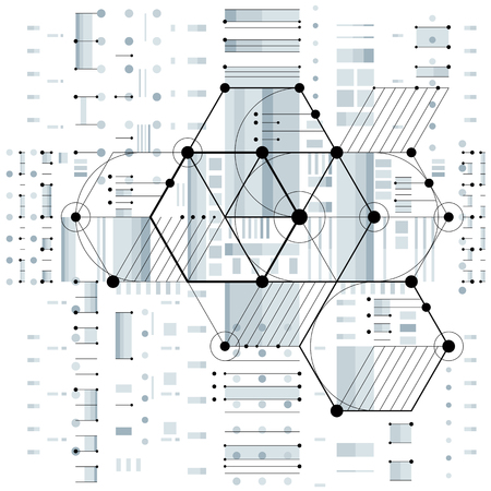 simbolos matematicos: Vector de la ingenier�a industrial y de fondo, el futuro plan t�cnico. Perspectiva modelo de mecanismo, el esquema mec�nico. Para su uso como fondo del Web site. Vectores