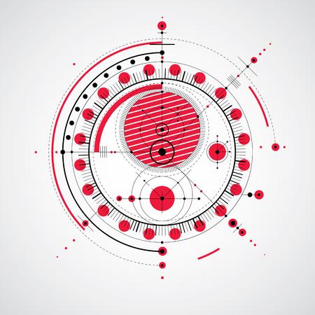 Vector ingénierie arrière-plan technologique, le plan technique futuriste, mécanisme. système mécanique, le design industriel abstrait peut être utilisé comme site de fond.