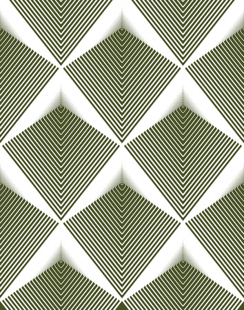 intertwine: Vector bright stripy endless pattern, art continuous geometric background with graphic lines.