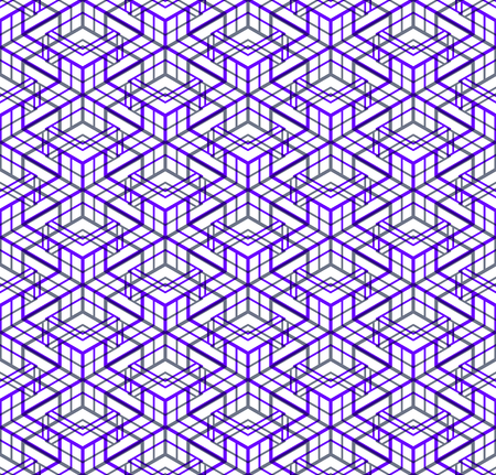 pellucid: Contemporary abstract endless EPS10 background, three-dimensional repeated pattern. Decorative graphic entwine transparent ornament.