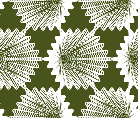 intertwine: Colorful vector ornamental pattern, seamless art background decorated with white lines, best for graphic and web design. Geometric ornate decoration.