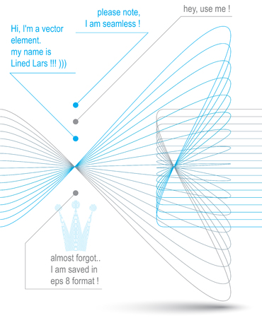 ephemeral: 3d transparent elegant flowing curves, light dynamic background, majestic design seamless backdrop. Curved flexible isolated elements � luxury coronet. Illustration