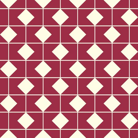 cor: Vector endless geometric pattern composed with squares and lines. Graphic tile with ornamental texture can be used in textile and design.