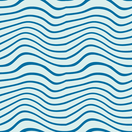 undulate: Vector ornamental continuous background made using undulate lines, curves. Blue composition can be used as wallpaper pattern.