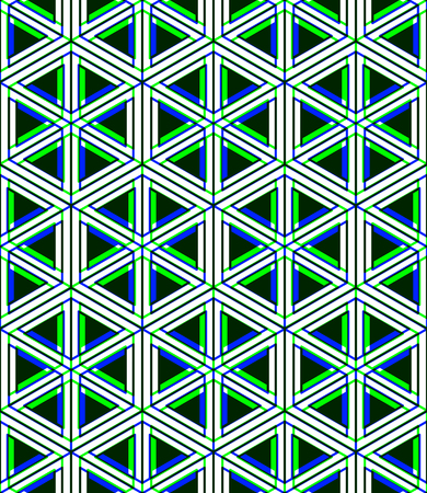 intertwine: Contemporary abstract endless EPS10 background, three-dimensional repeated pattern. Decorative graphic entwine transparent ornament.